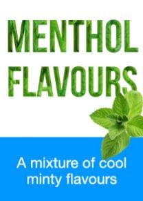 menthol flavoured ejuices