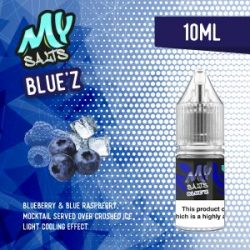 bluez nic salts eliquid from my salts