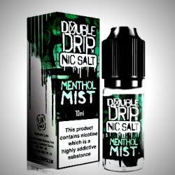 menthol mist nic salt eliquid by double drip salts