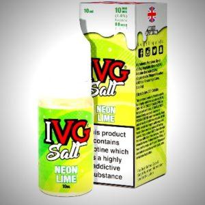 neon lime nicsalt eliquid by IVG salts
