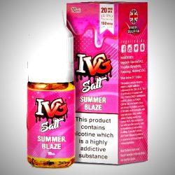 Summer Blaze nicsalt eliquid by IVG salts