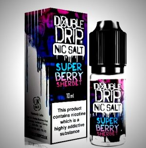 super berry nic salts eliquid by double drip salts