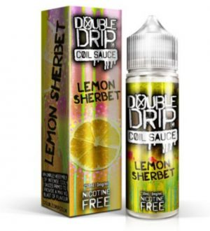 lemon sherbet 50ml shortfill eliquid by double drip