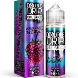 Raspberry Sherbet 50ml shortfill eliquid by double drip