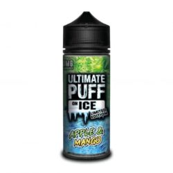 Apple and Mango On Ice 120ml shortfill eliquid by Ultimate Puff ICE