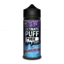 Blackcurrant On Ice 120ml shortfill eliquid by Ultimate Puff ICE
