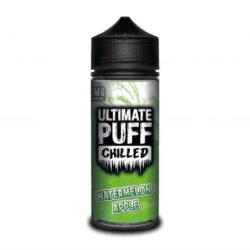 Watermelon Apple 120ml shortfill eliquid by Ultimate Puff Chilled