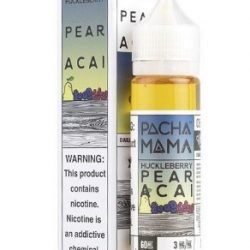 Huckleberry Pear and Acai 50ml shortfill eliquid by pacha mama