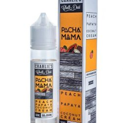 Peach Papaya and Coconut Cream 50ml shortfill eliquid by pacha mama