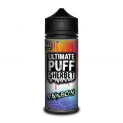 Rainbow Sherbet 120ml shortfill eliquid by Ultimate Puff Sherbet