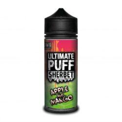 Apple & Mango 120ml shortfill eliquid by Ultimate Puff Sherbet