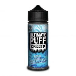 Blue Raspberry 120ml shortfill eliquid by Ultimate Puff Chilled