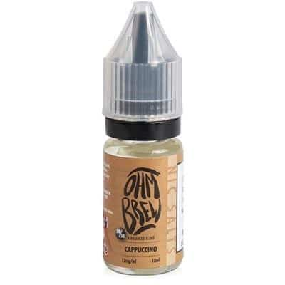 cappuccino nic salts eliquid by Ohm Brew
