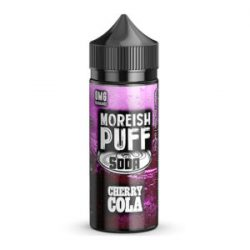 Cherry Cola 100ml shortfill eliquid by Moreish Puff Soda