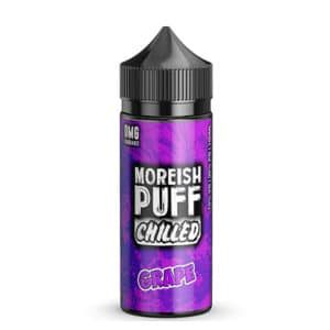 Grape 100ml shortfill eliquid by Moreish Puff Chilled