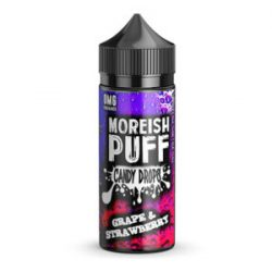 Grape & Strawberry 100ml shortfill eliquid by Moreish Puff Candy Drops