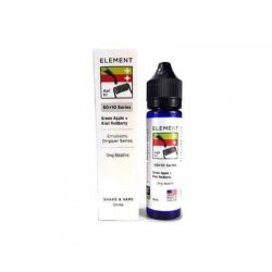 Green Apple and Kiwi Redberry 50ml shortfill eliquid by Element Emulsions