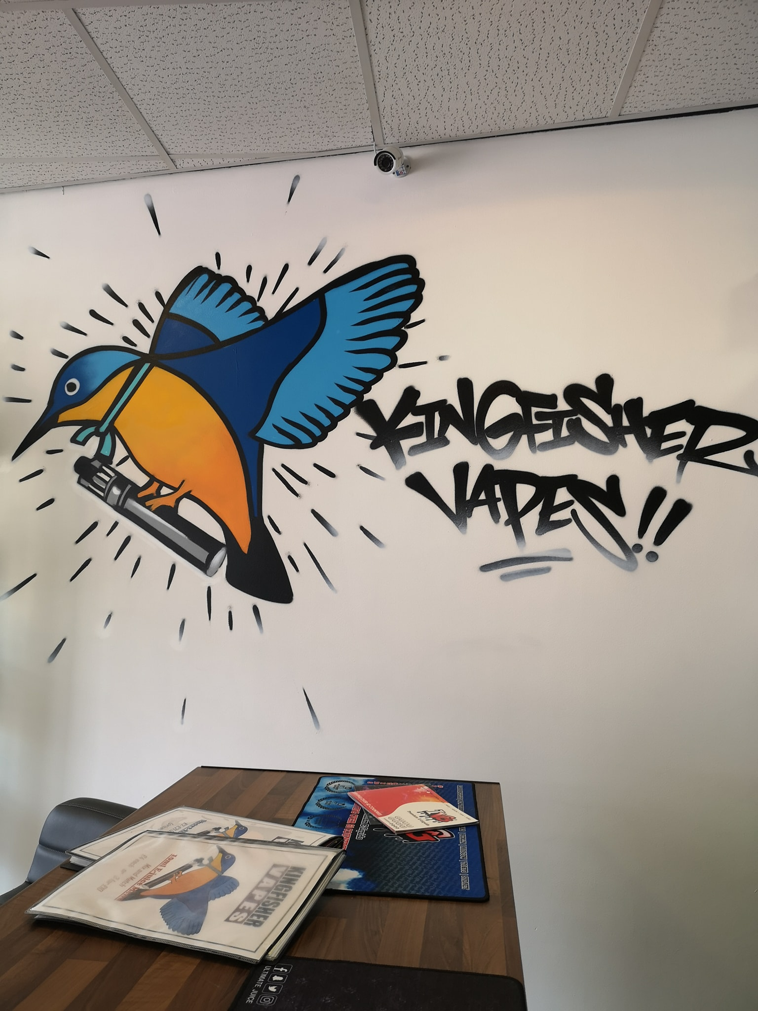 logo of vapesense kingswinford now kingfisher vapes