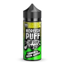 Lemon and Sour Apple 100ml shortfill eliquid by Moreish Puff Candy Drops
