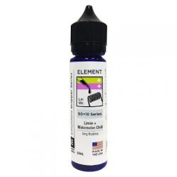 Limon and Watermelon Chill 50ml shortfill eliquid by Element Emulsions