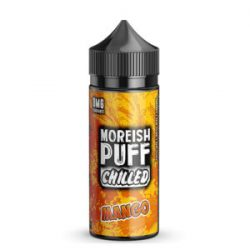 Mango 100ml shortfill eliquid by Moreish Puff Chilled