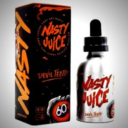 Devil Teeth 50ml shortfill eliquid by nasty juice