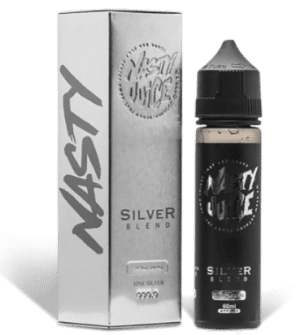 Silver Blend Tobacco 50ml shortfill eliquid by nasty juice