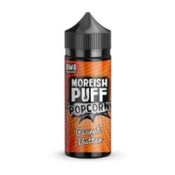 Peanut Butter 100ml shortfill eliquid by Moreish Puff Popcorn