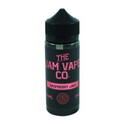 Raspberry Jam 100ml shortfill eliquid by jam vape co