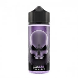 The Black 100ml shortfill eliquid by Zeus Juice