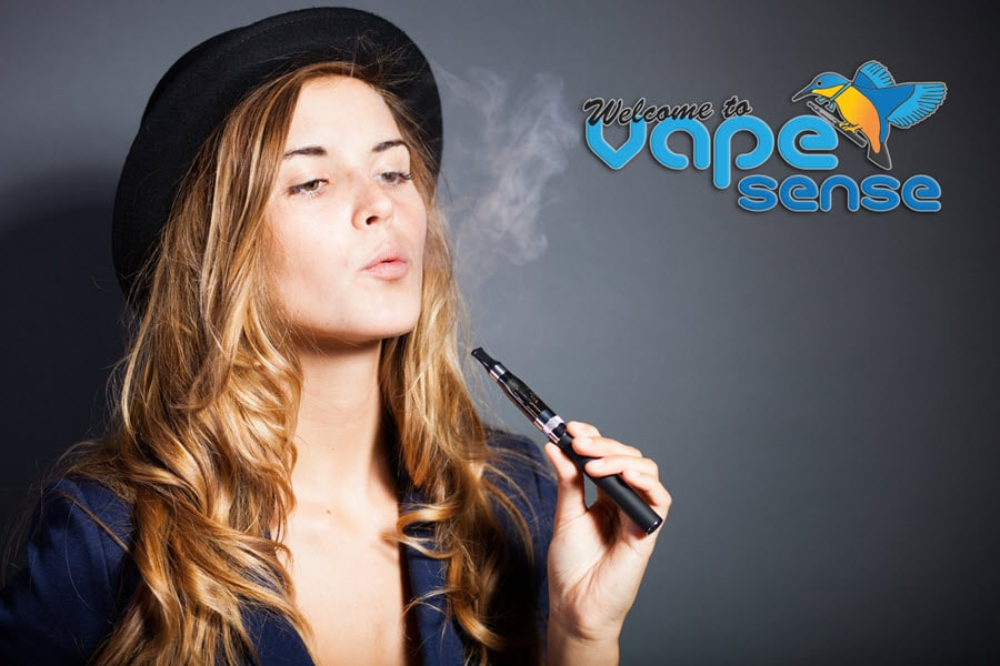vapesense home page showing vaping
